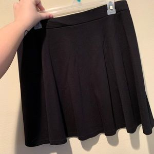 H&M Black Skater Skirt